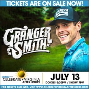 Granger Smith @ Celebrate Virginia After Hours | Fredericksburg | Virginia | United States