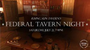 Federal Tavern Night at the Rising Sun Tavern @ Rising Sun Tavern | Fredericksburg | Virginia | United States