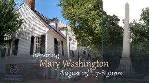 Honoring Mary Washington @ Mary Washington House | Fredericksburg | Virginia | United States