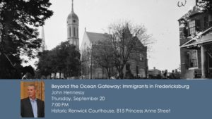 Evening With An Expert: Beyond the Ocean Gateway @ Renwick Building | Fredericksburg | Virginia | United States