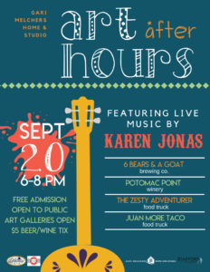 Art After Hours @ Gari Melchers Home and Studio | Falmouth | Virginia | United States